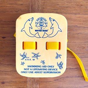 5 for $35.  Kids adjustable swim floatie.